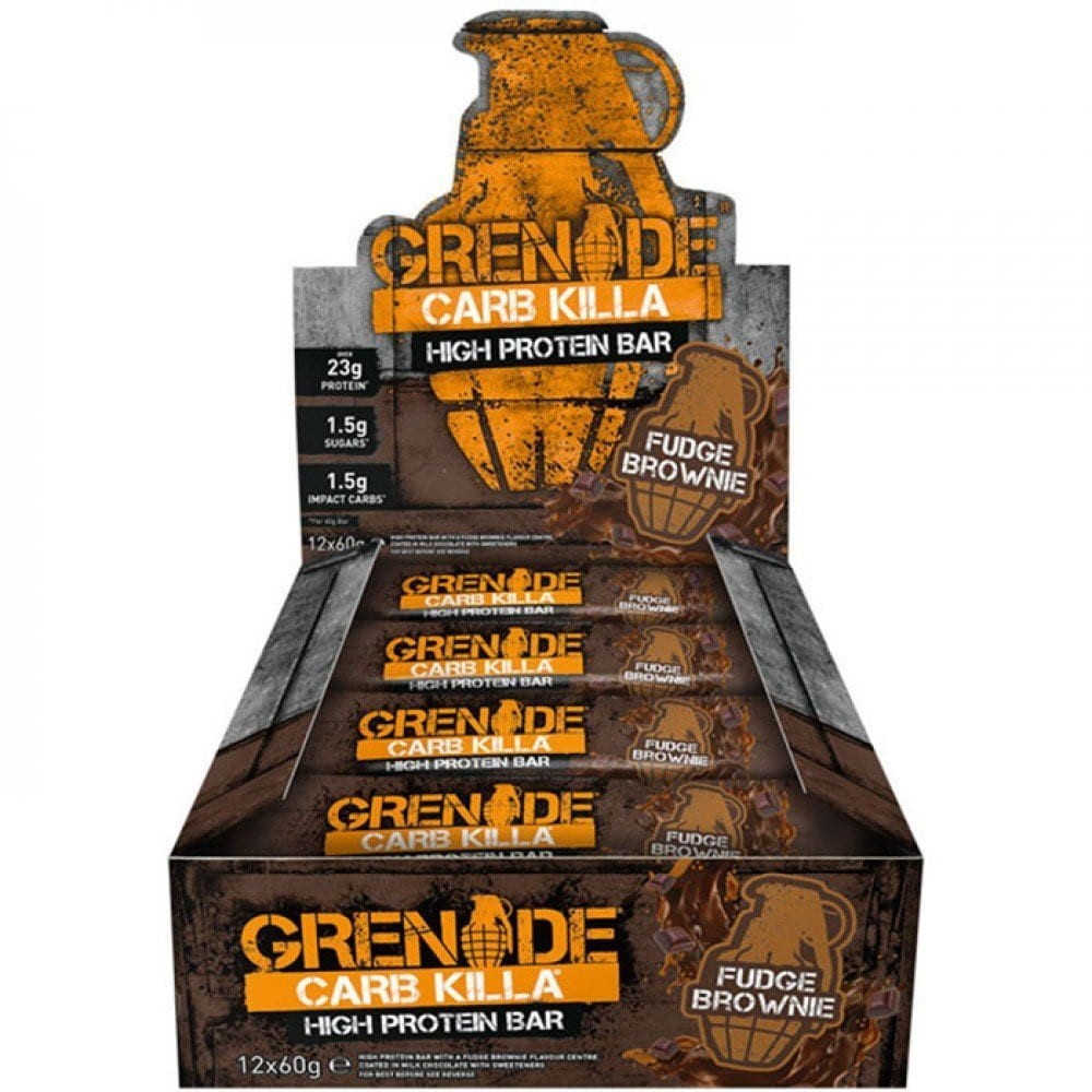 Grenade Carb Killa Protein Bars – Box of 12 Bars