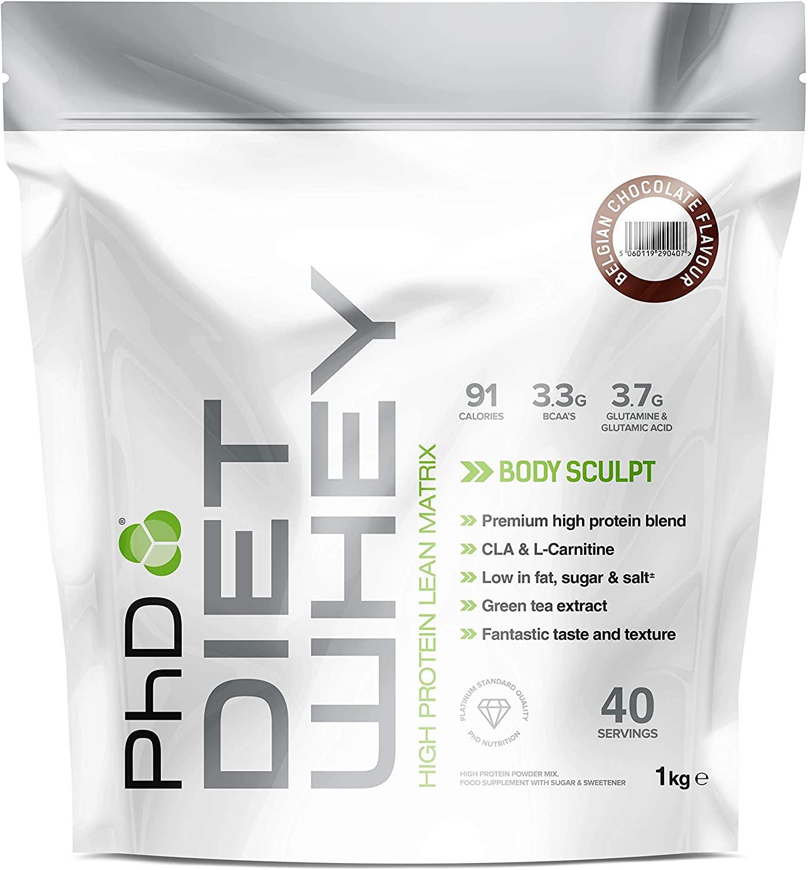 PhD Nutrition Diet Whey Protein 1kg