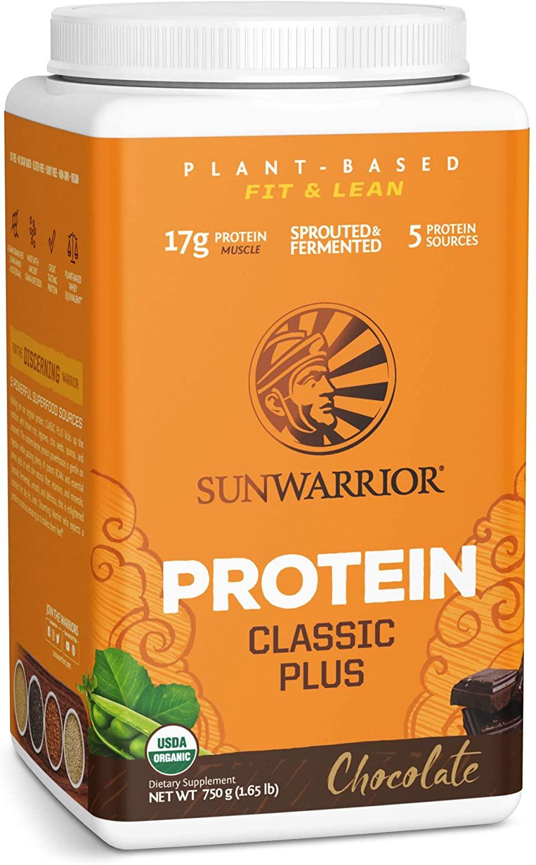 Sunwarrior Classic Plus Plant Based Organic Protein – 750g