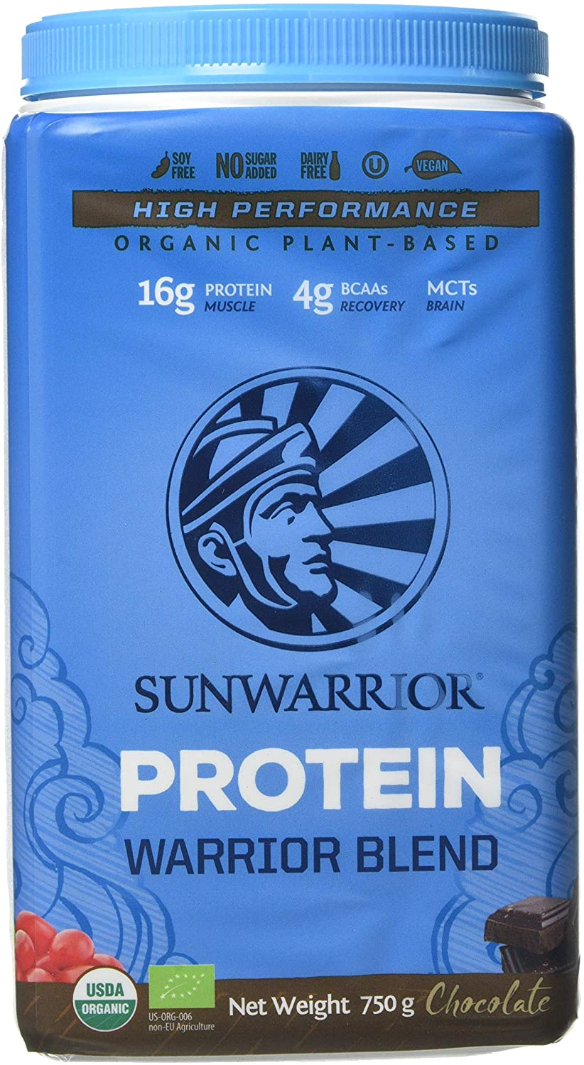 Sunwarrior Warrior Blend Organic Raw Vegan Protein Powder – 750g