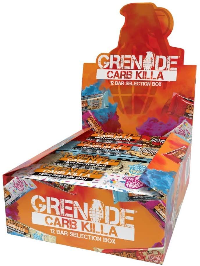 Grenade Carb Killa Protein Bars – Selection Box