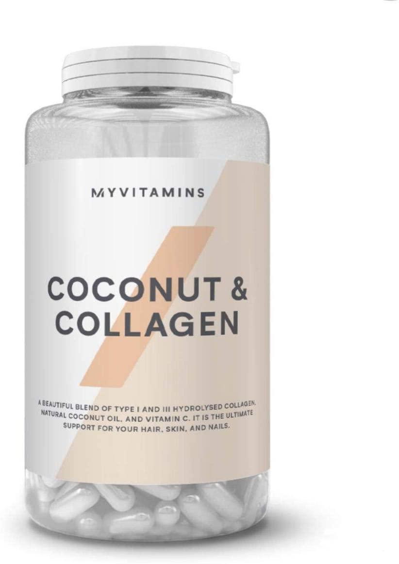 myvitamins Coconut & Collagen 60 Capsules