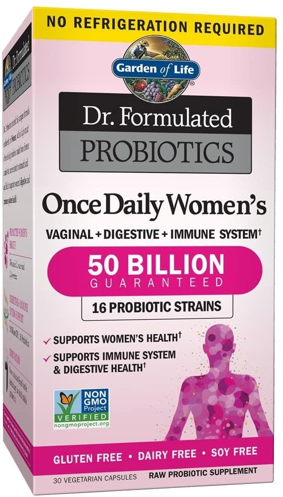 Garden of Life Microbiome Once Daily Women's Probiotic – 30 Capsules