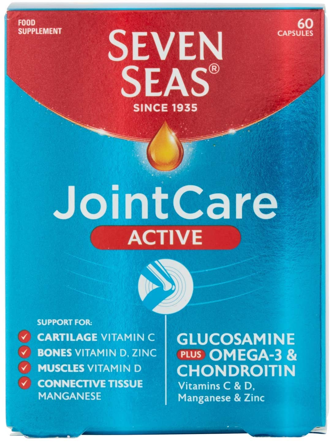 Seven Seas Joint Care Active – 60 Capsules