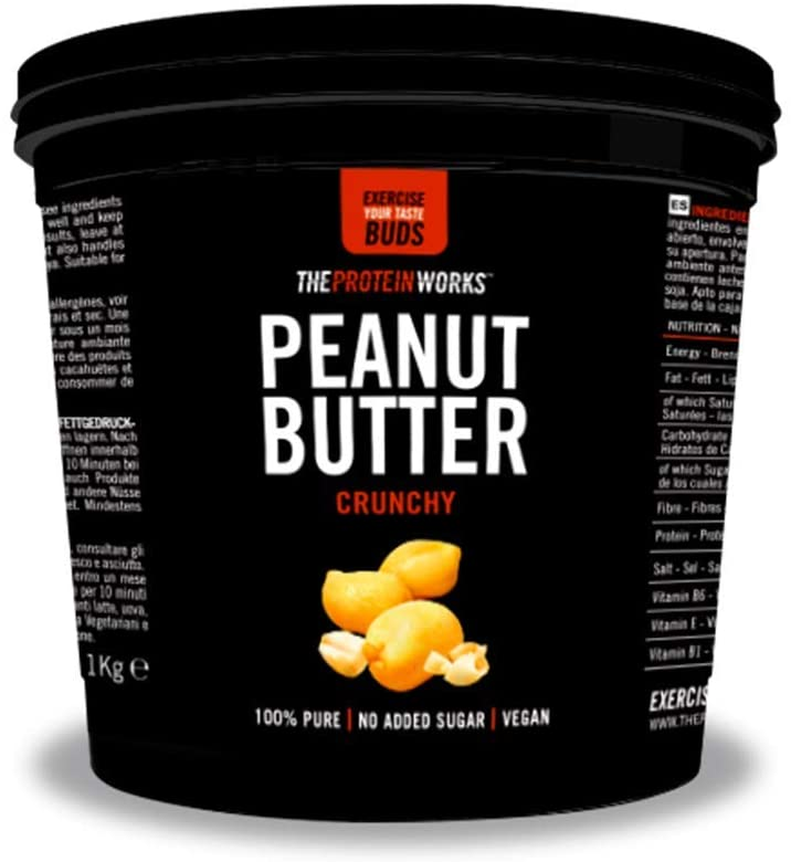 The Protein Works Peanut Butter Crunchy 1kg