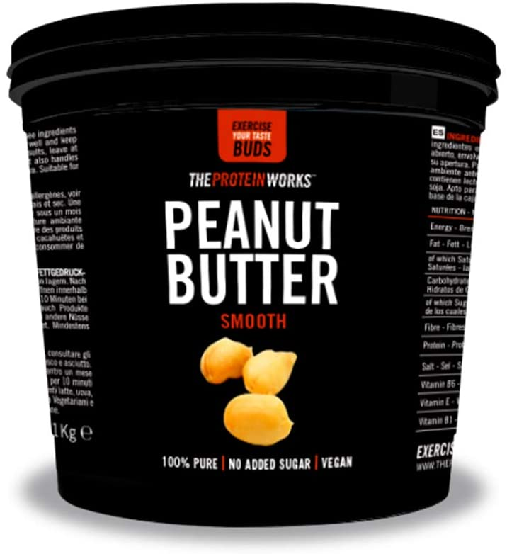 The Protein Works Peanut Butter Smooth 1kg