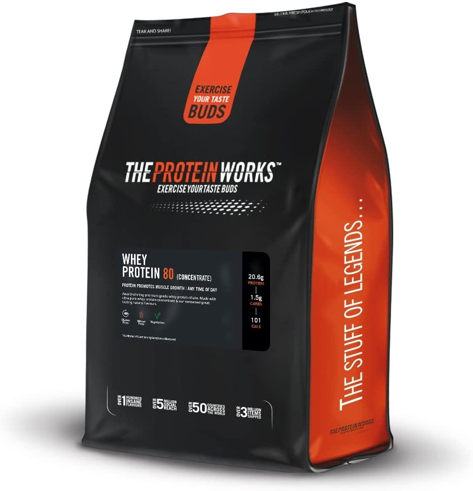 The Protein Works Whey Protein 80 (Concentrate) – 2kg