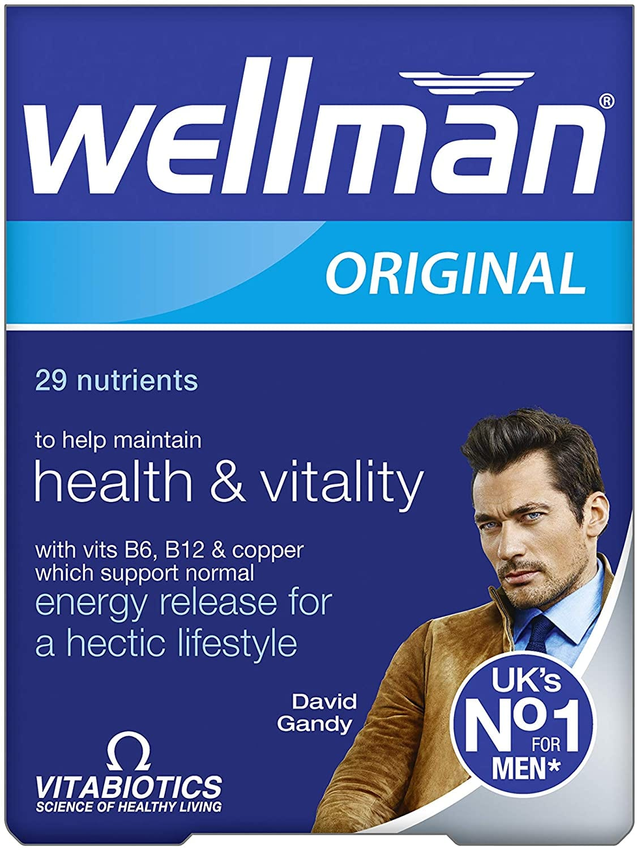 Wellman Original – 30 Tablets