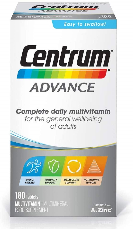 Centrum Advance Multivitamin – 180 Tablets