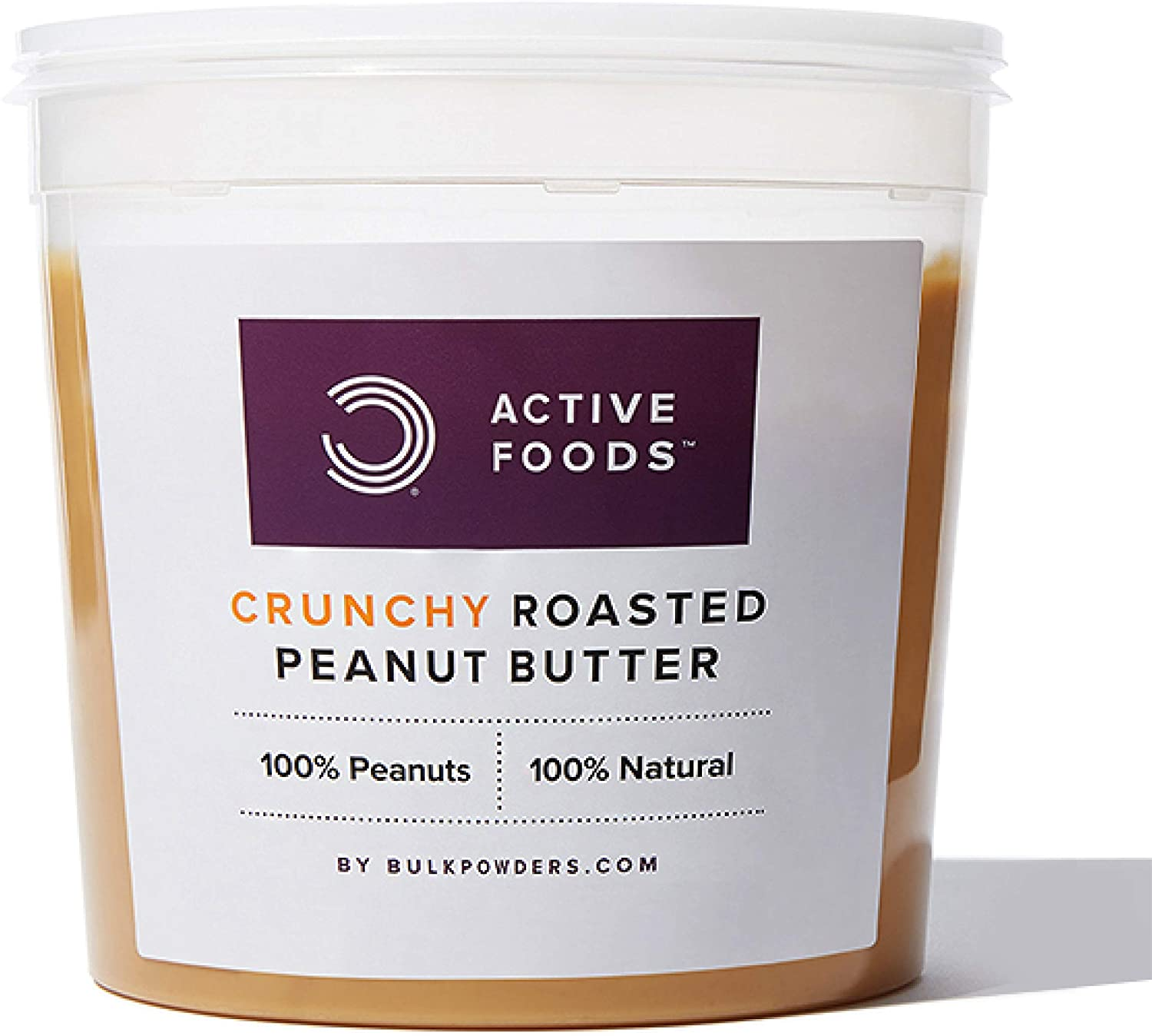 Bulk Natural Crunchy Roasted Peanut Butter – 1kg