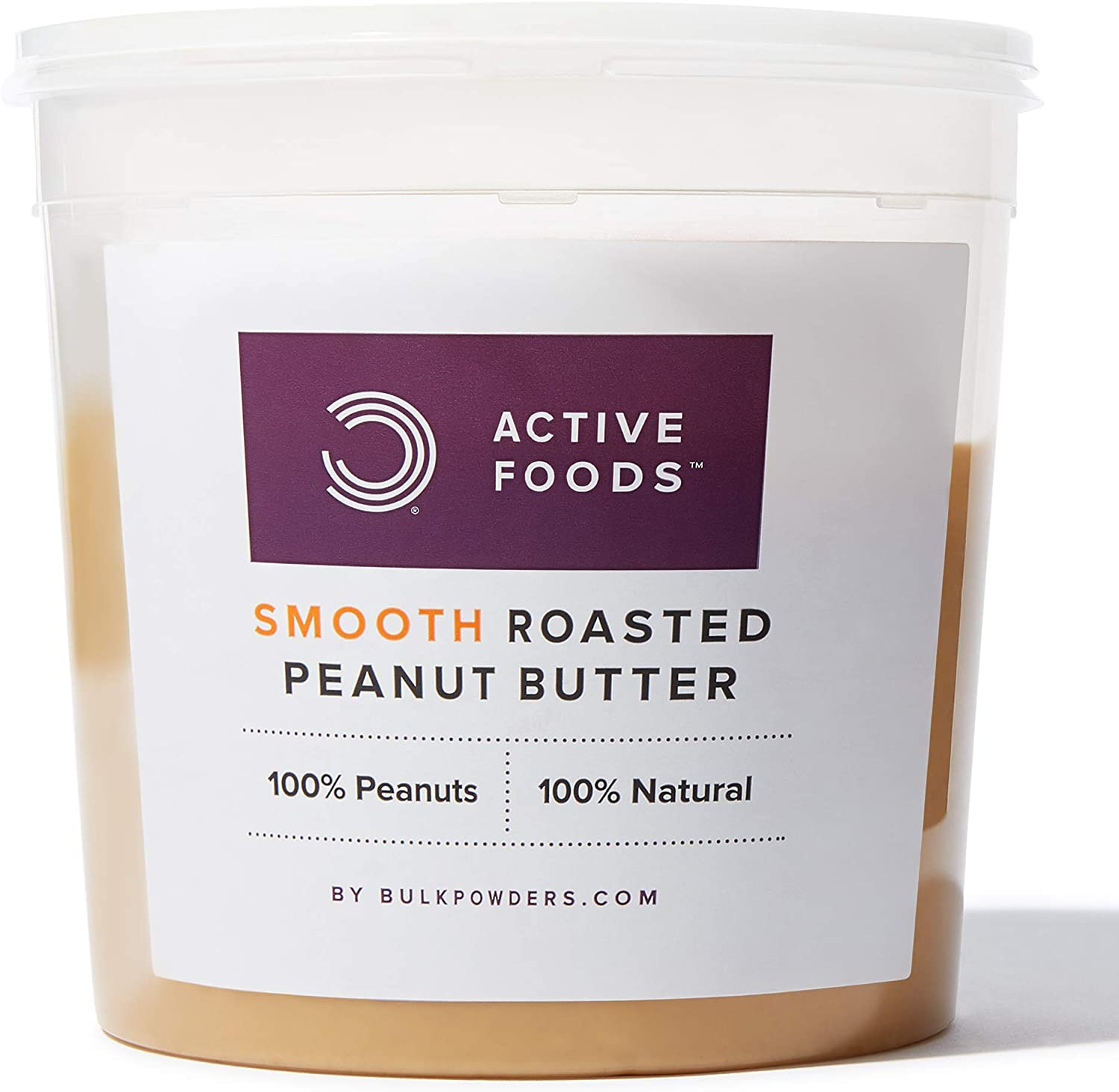 Bulk Natural Smooth Roasted Peanut Butter – 1kg