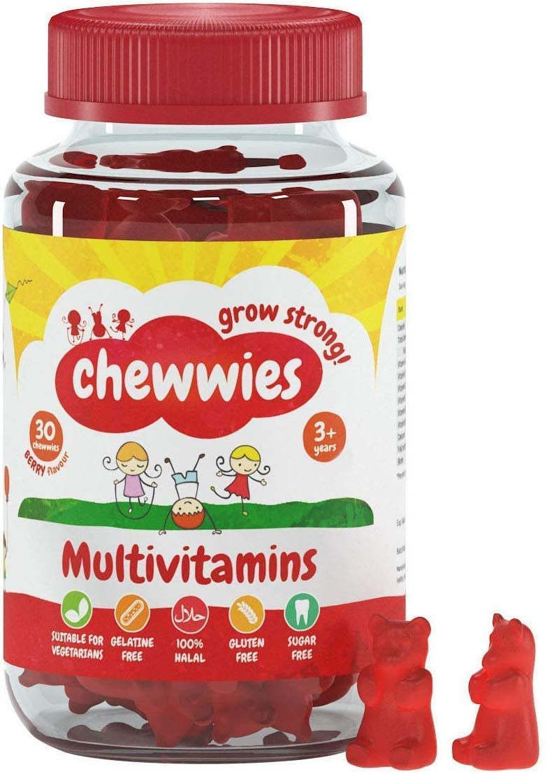 Chewwies Multivitamin Gummies – 30 chewwies