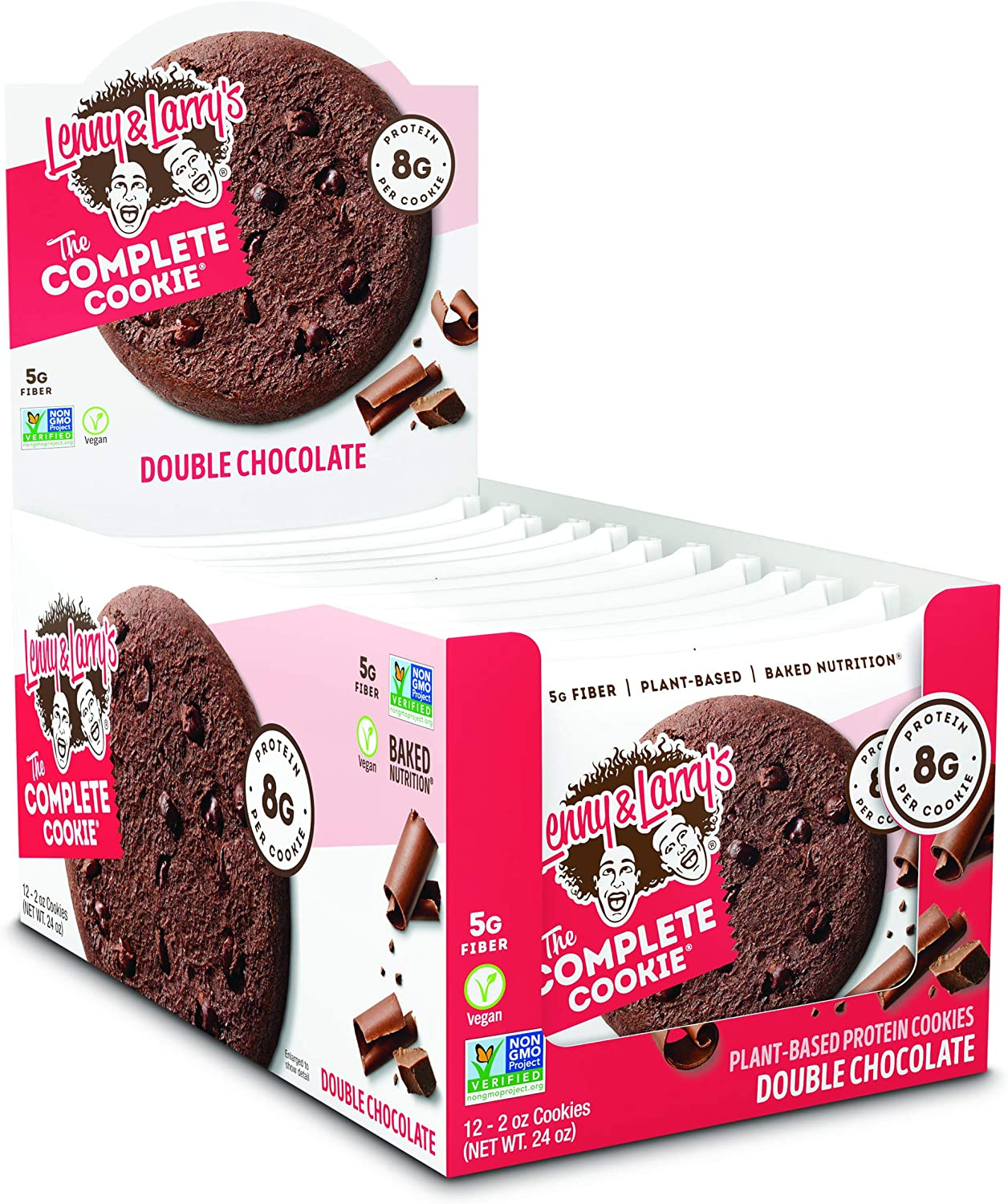 20% OFF Lenny & Larry's Complete Cookie 12x56g Double Chocolate