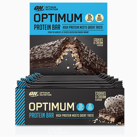 Optimum Nutrition Optimum Protein Bars- Box of 10 Bars