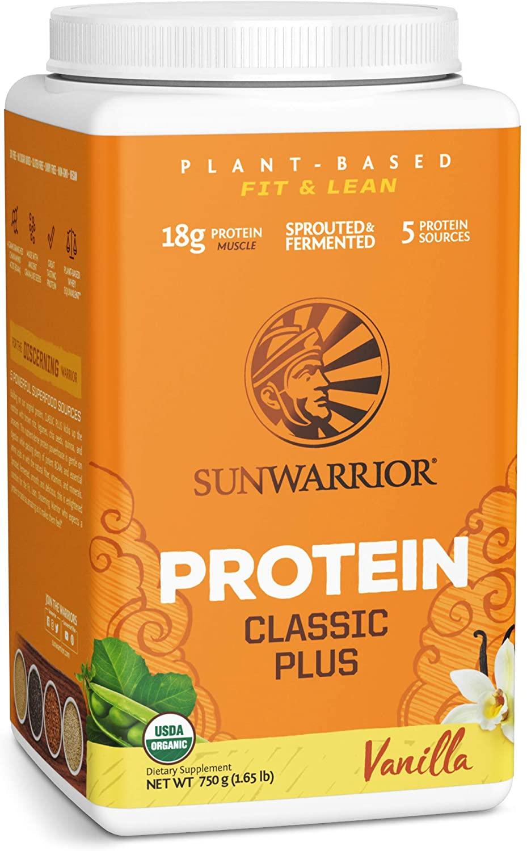 39% OFF Sunwarrior Warrior Blend Vegan Protein Powder – 750g