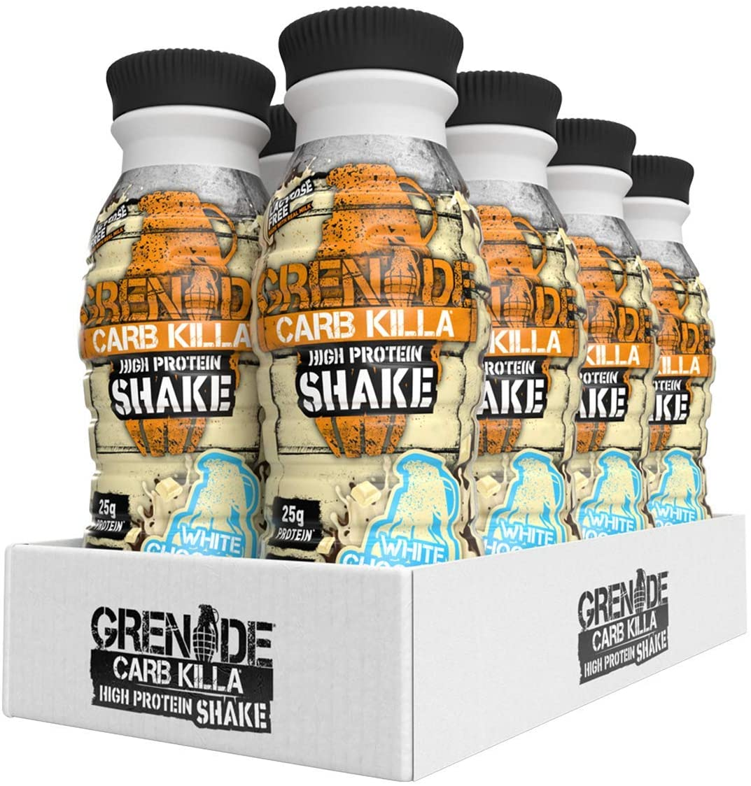 Grenade Carb Killa Protein Shakes – Pack of 8x330ml