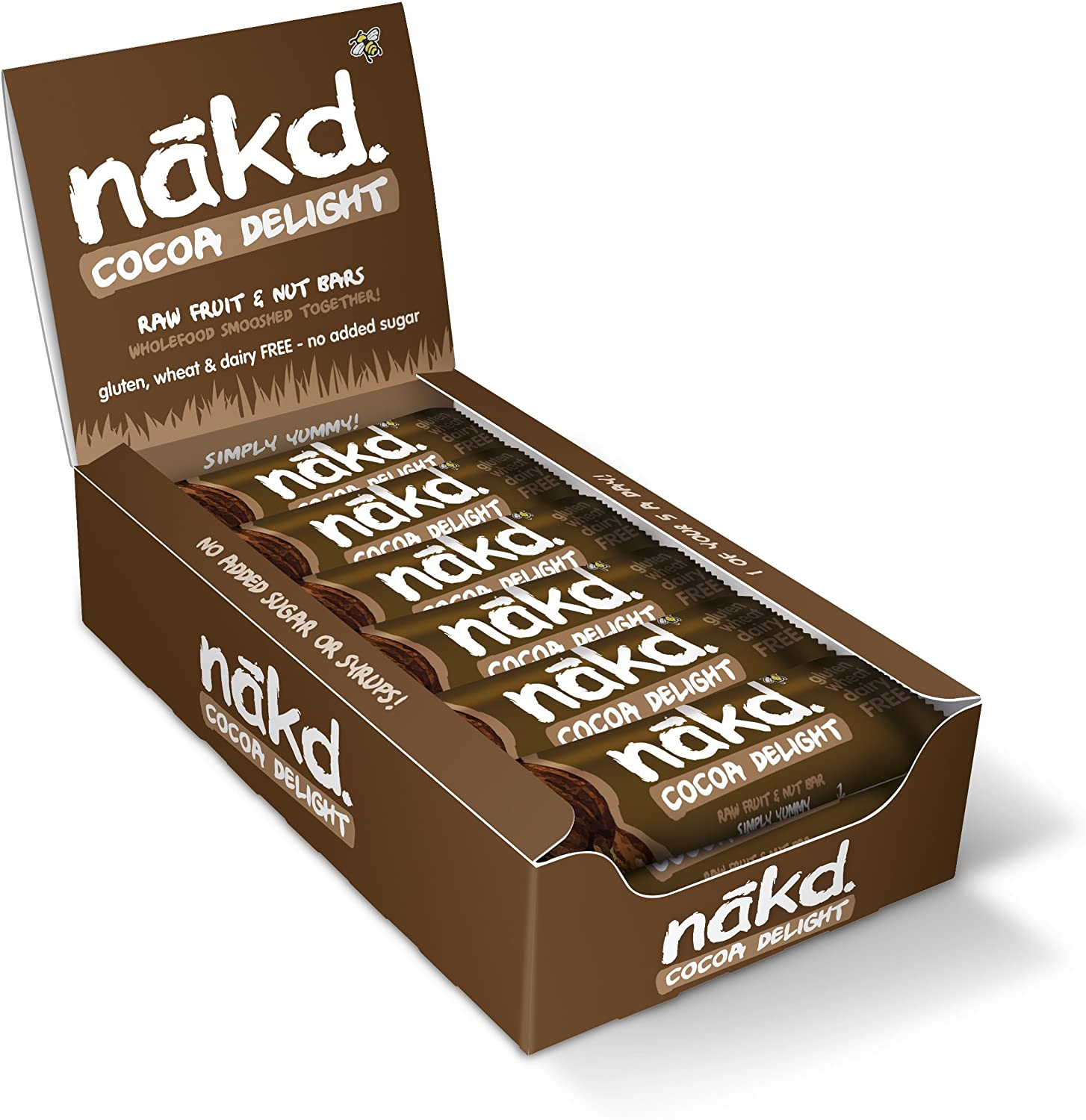 Nakd Fruit and Nut Bars – Box of 18x35g