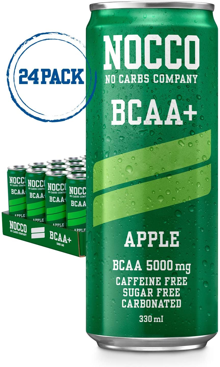 NOCCO BCAA+ – Pack of 24x330ml
