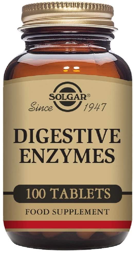 Solgar Digestive Enzymes – 100 Tablets