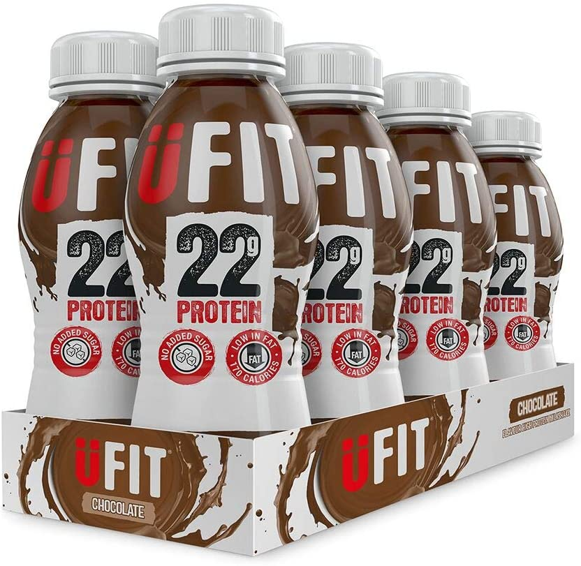 UFIT High Protein Shake – Pack of 8x310ml